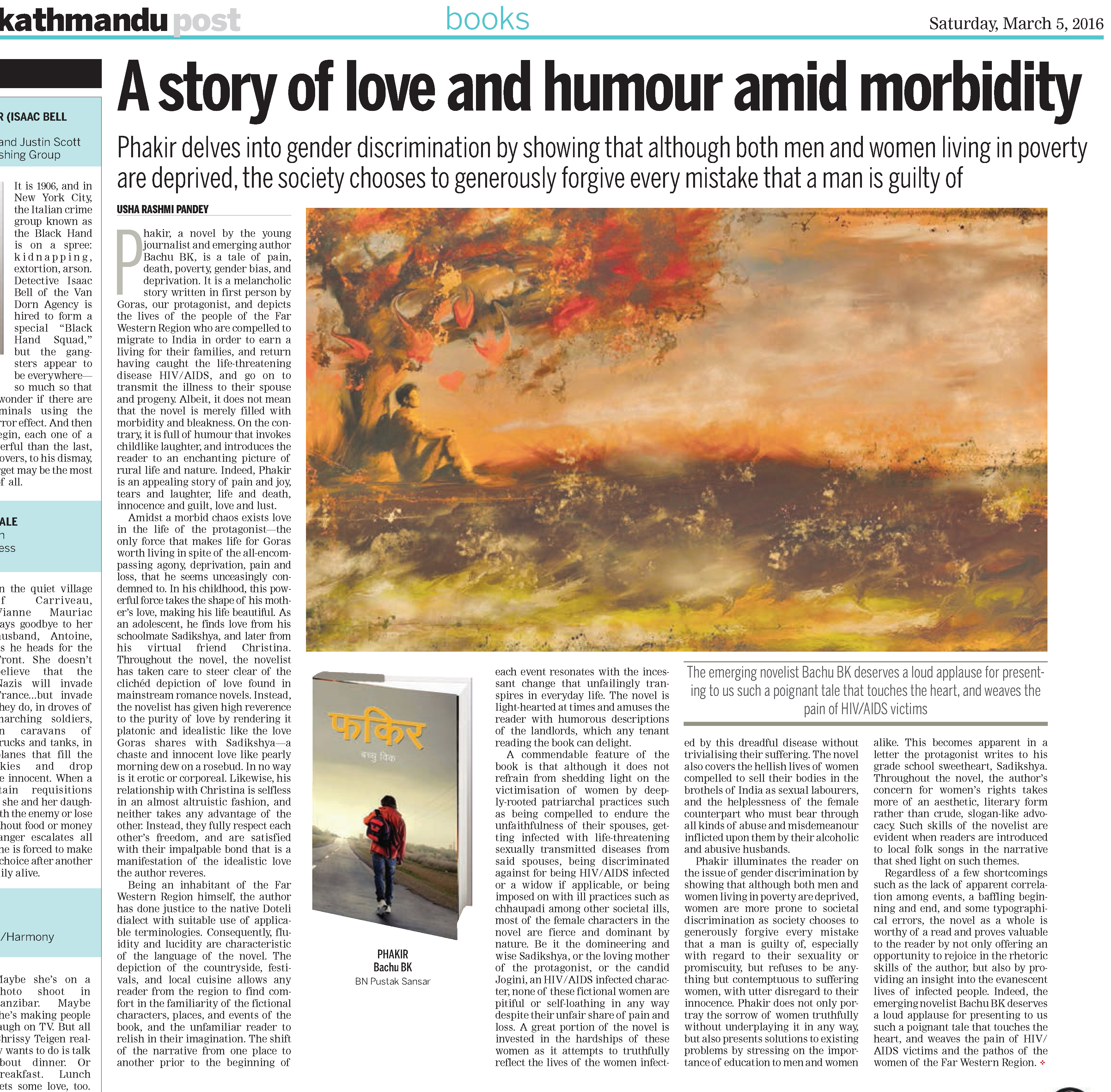 A Story Of Love And Humour Amid Morbidity